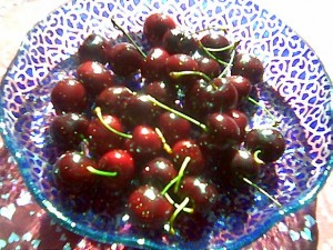 Fresh Cherries Are Great Painkillers