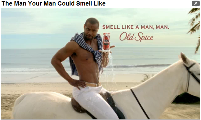 Lunch Laughs: Old Spice Man