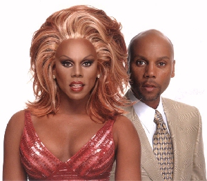 RuPaul, both sides of the coin