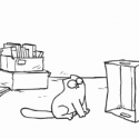 Simon's Cat in 'The Box'  Video