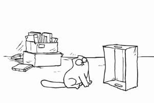 Simon's Cat in 'The Box'  Video