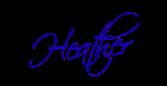 Heather Cate's signature -- Heather Cate, Spiritual Coach for the Creative Soul