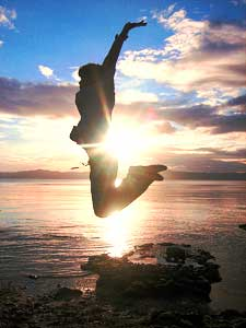 jump for joy!  prayer for renewal, healing