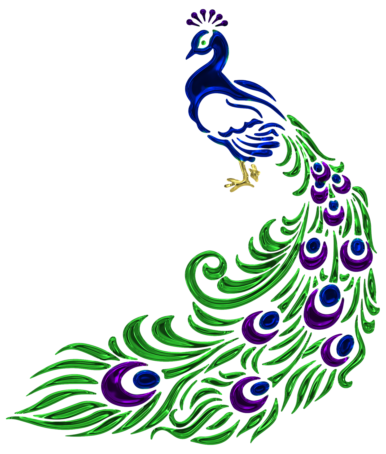 Peacock and Paisley