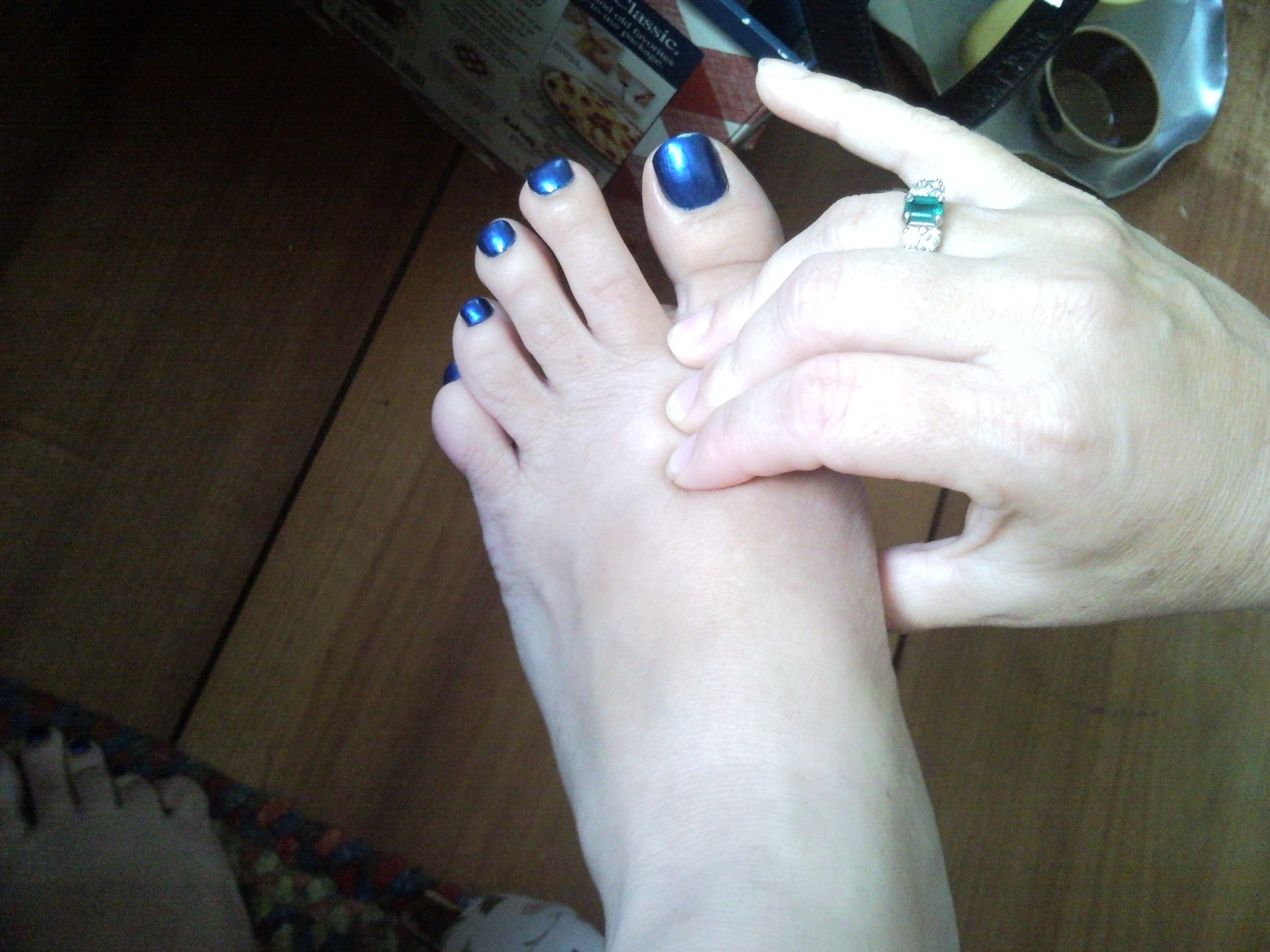 How to locate pressure point on foot for period relief Heather Cate Peacock & Paisley Spiritual Coaching & Holistic Healing