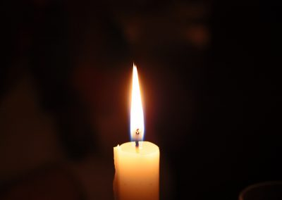 Light of a Single Candle
